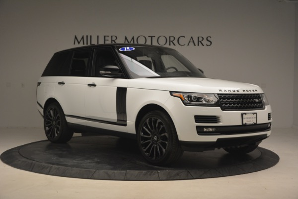 Used 2015 Land Rover Range Rover Supercharged for sale Sold at Alfa Romeo of Greenwich in Greenwich CT 06830 11