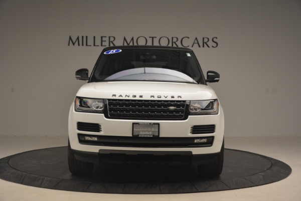 Used 2015 Land Rover Range Rover Supercharged for sale Sold at Alfa Romeo of Greenwich in Greenwich CT 06830 12