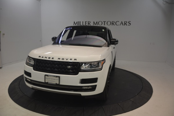 Used 2015 Land Rover Range Rover Supercharged for sale Sold at Alfa Romeo of Greenwich in Greenwich CT 06830 13