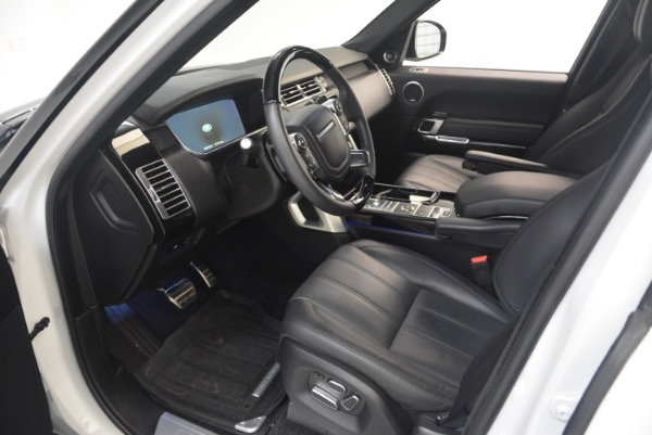 Used 2015 Land Rover Range Rover Supercharged for sale Sold at Alfa Romeo of Greenwich in Greenwich CT 06830 17