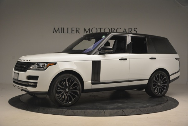 Used 2015 Land Rover Range Rover Supercharged for sale Sold at Alfa Romeo of Greenwich in Greenwich CT 06830 2