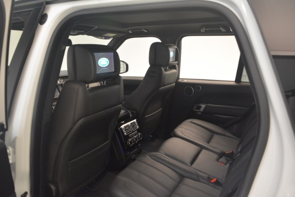 Used 2015 Land Rover Range Rover Supercharged for sale Sold at Alfa Romeo of Greenwich in Greenwich CT 06830 22