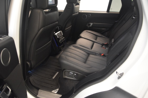 Used 2015 Land Rover Range Rover Supercharged for sale Sold at Alfa Romeo of Greenwich in Greenwich CT 06830 23