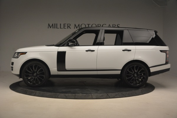 Used 2015 Land Rover Range Rover Supercharged for sale Sold at Alfa Romeo of Greenwich in Greenwich CT 06830 3