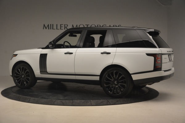 Used 2015 Land Rover Range Rover Supercharged for sale Sold at Alfa Romeo of Greenwich in Greenwich CT 06830 4