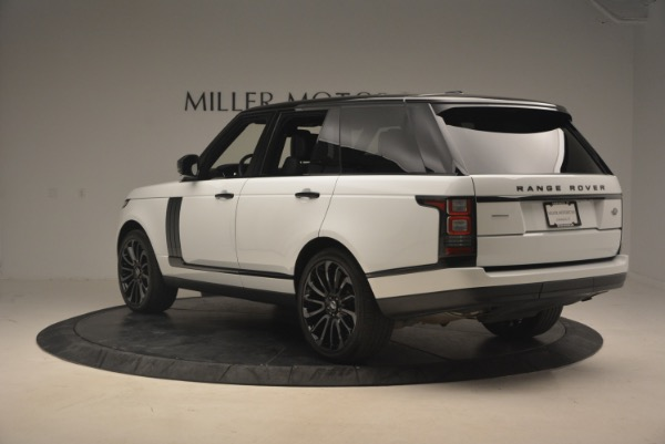 Used 2015 Land Rover Range Rover Supercharged for sale Sold at Alfa Romeo of Greenwich in Greenwich CT 06830 5