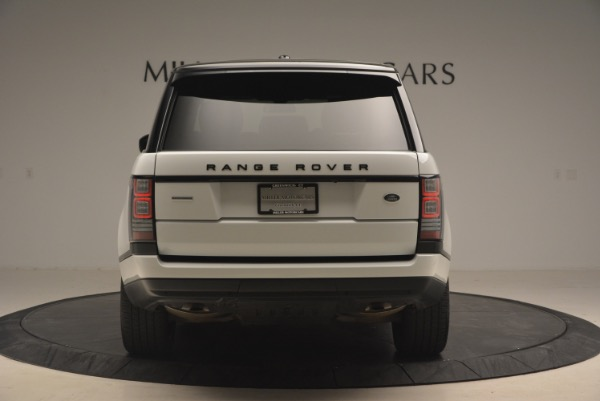 Used 2015 Land Rover Range Rover Supercharged for sale Sold at Alfa Romeo of Greenwich in Greenwich CT 06830 6