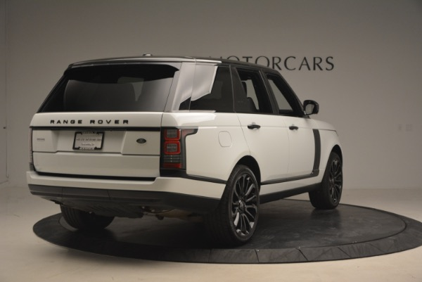 Used 2015 Land Rover Range Rover Supercharged for sale Sold at Alfa Romeo of Greenwich in Greenwich CT 06830 7