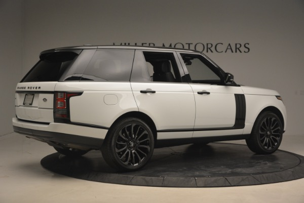 Used 2015 Land Rover Range Rover Supercharged for sale Sold at Alfa Romeo of Greenwich in Greenwich CT 06830 8