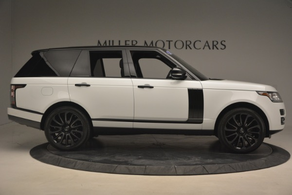 Used 2015 Land Rover Range Rover Supercharged for sale Sold at Alfa Romeo of Greenwich in Greenwich CT 06830 9