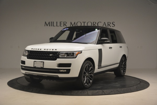 Used 2015 Land Rover Range Rover Supercharged for sale Sold at Alfa Romeo of Greenwich in Greenwich CT 06830 1
