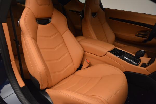 New 2017 Maserati GranTurismo Coupe Sport for sale Sold at Alfa Romeo of Greenwich in Greenwich CT 06830 21