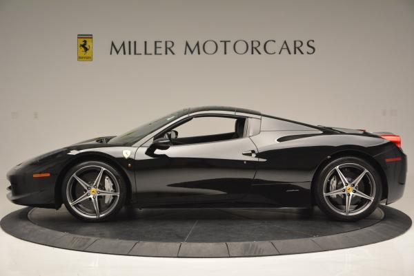 Used 2012 Ferrari 458 Spider for sale Sold at Alfa Romeo of Greenwich in Greenwich CT 06830 15