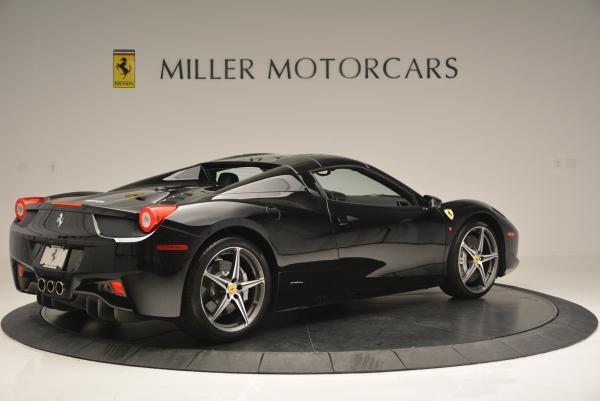 Used 2012 Ferrari 458 Spider for sale Sold at Alfa Romeo of Greenwich in Greenwich CT 06830 20