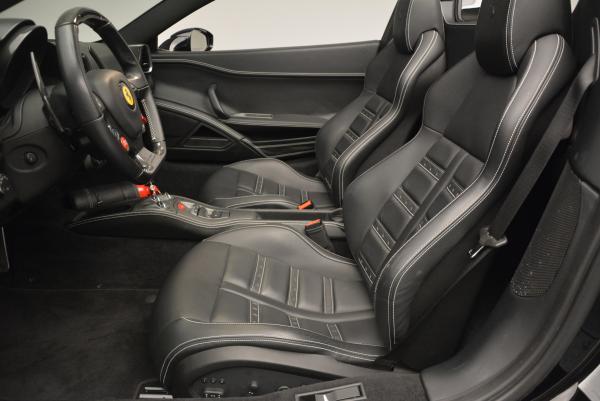 Used 2012 Ferrari 458 Spider for sale Sold at Alfa Romeo of Greenwich in Greenwich CT 06830 26