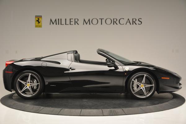 Used 2012 Ferrari 458 Spider for sale Sold at Alfa Romeo of Greenwich in Greenwich CT 06830 9