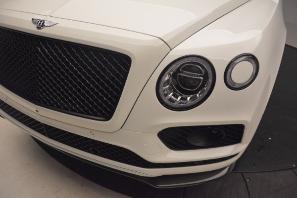 Used 2018 Bentley Bentayga Black Edition for sale Call for price at Alfa Romeo of Greenwich in Greenwich CT 06830 14
