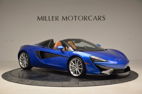 Used 2018 McLaren 570S Spider for sale Call for price at Alfa Romeo of Greenwich in Greenwich CT 06830 10
