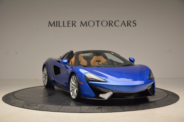 Used 2018 McLaren 570S Spider for sale Call for price at Alfa Romeo of Greenwich in Greenwich CT 06830 11