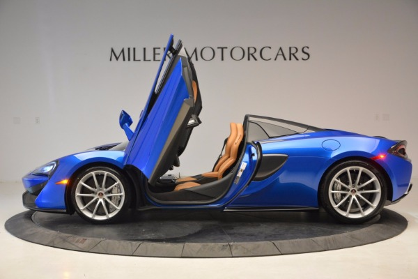 Used 2018 McLaren 570S Spider for sale Call for price at Alfa Romeo of Greenwich in Greenwich CT 06830 15