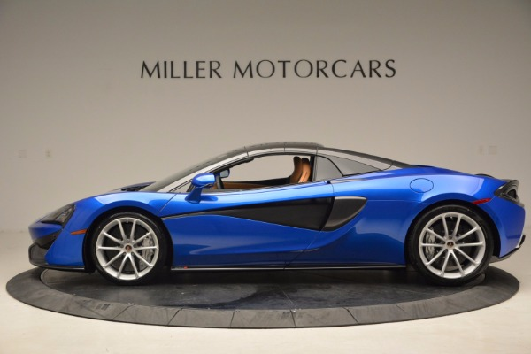 Used 2018 McLaren 570S Spider for sale Call for price at Alfa Romeo of Greenwich in Greenwich CT 06830 16