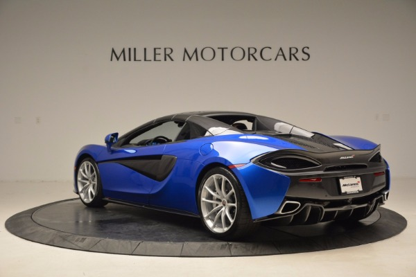 Used 2018 McLaren 570S Spider for sale Call for price at Alfa Romeo of Greenwich in Greenwich CT 06830 17