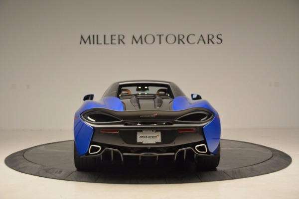 Used 2018 McLaren 570S Spider for sale Call for price at Alfa Romeo of Greenwich in Greenwich CT 06830 18