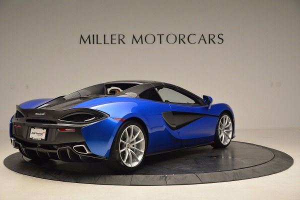 Used 2018 McLaren 570S Spider for sale Call for price at Alfa Romeo of Greenwich in Greenwich CT 06830 19