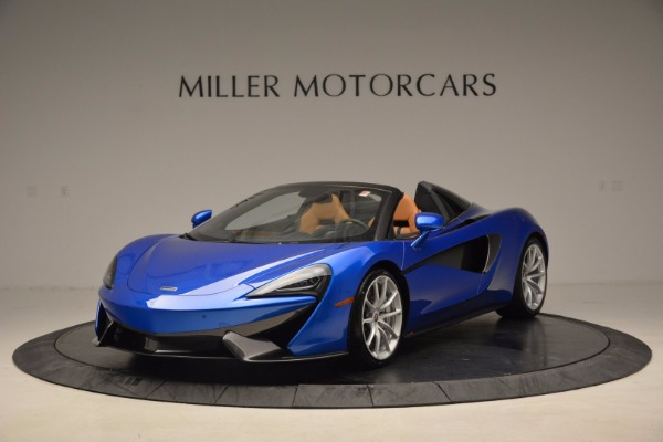 Used 2018 McLaren 570S Spider for sale Call for price at Alfa Romeo of Greenwich in Greenwich CT 06830 2