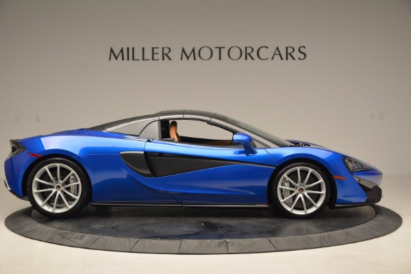 Used 2018 McLaren 570S Spider for sale Call for price at Alfa Romeo of Greenwich in Greenwich CT 06830 20