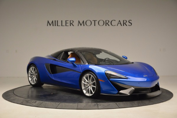 Used 2018 McLaren 570S Spider for sale Call for price at Alfa Romeo of Greenwich in Greenwich CT 06830 21