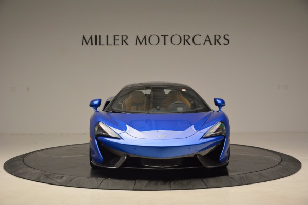 Used 2018 McLaren 570S Spider for sale Call for price at Alfa Romeo of Greenwich in Greenwich CT 06830 22