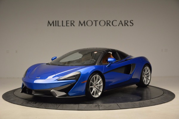 Used 2018 McLaren 570S Spider for sale Call for price at Alfa Romeo of Greenwich in Greenwich CT 06830 23