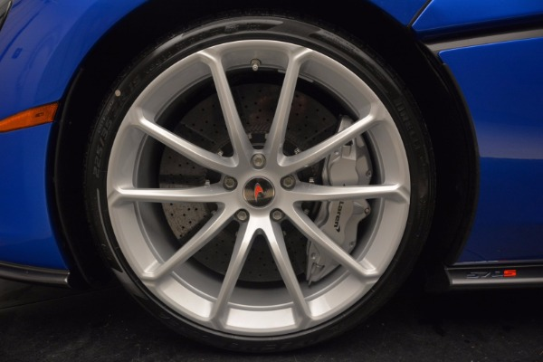 Used 2018 McLaren 570S Spider for sale Call for price at Alfa Romeo of Greenwich in Greenwich CT 06830 24