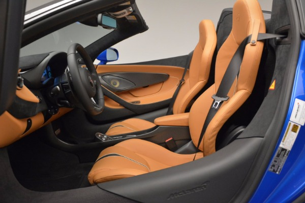 Used 2018 McLaren 570S Spider for sale Call for price at Alfa Romeo of Greenwich in Greenwich CT 06830 27