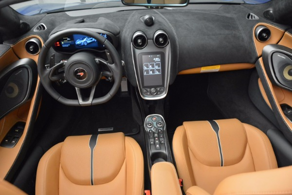 Used 2018 McLaren 570S Spider for sale Call for price at Alfa Romeo of Greenwich in Greenwich CT 06830 28