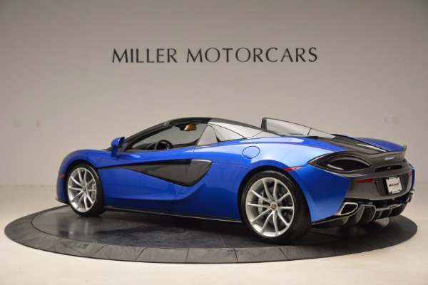 Used 2018 McLaren 570S Spider for sale Call for price at Alfa Romeo of Greenwich in Greenwich CT 06830 4
