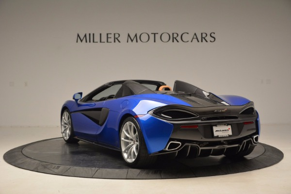 Used 2018 McLaren 570S Spider for sale Call for price at Alfa Romeo of Greenwich in Greenwich CT 06830 5