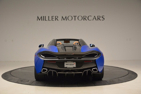 Used 2018 McLaren 570S Spider for sale Call for price at Alfa Romeo of Greenwich in Greenwich CT 06830 6