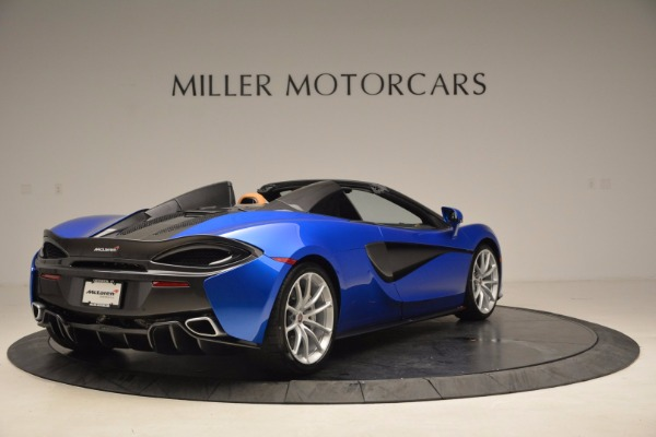 Used 2018 McLaren 570S Spider for sale Call for price at Alfa Romeo of Greenwich in Greenwich CT 06830 7