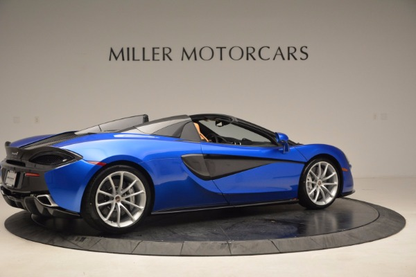 Used 2018 McLaren 570S Spider for sale Call for price at Alfa Romeo of Greenwich in Greenwich CT 06830 8