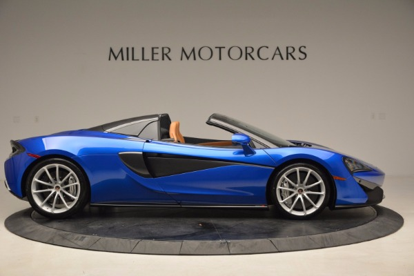 Used 2018 McLaren 570S Spider for sale Call for price at Alfa Romeo of Greenwich in Greenwich CT 06830 9