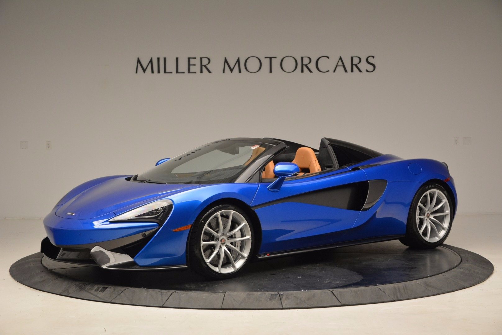 Used 2018 McLaren 570S Spider for sale Call for price at Alfa Romeo of Greenwich in Greenwich CT 06830 1