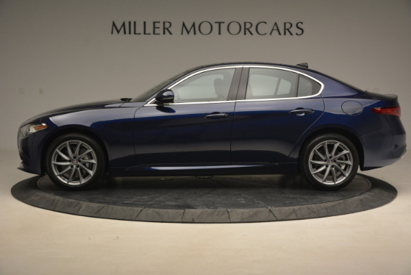 New 2017 Alfa Romeo Giulia Q4 for sale Sold at Alfa Romeo of Greenwich in Greenwich CT 06830 3
