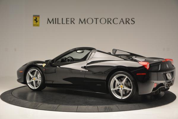 Used 2013 Ferrari 458 Spider for sale Sold at Alfa Romeo of Greenwich in Greenwich CT 06830 4