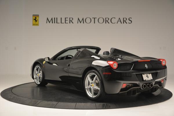 Used 2013 Ferrari 458 Spider for sale Sold at Alfa Romeo of Greenwich in Greenwich CT 06830 5