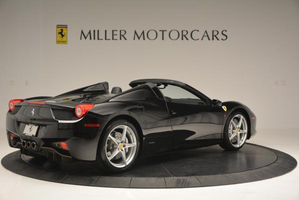 Used 2013 Ferrari 458 Spider for sale Sold at Alfa Romeo of Greenwich in Greenwich CT 06830 8