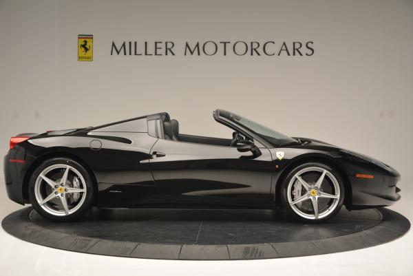 Used 2013 Ferrari 458 Spider for sale Sold at Alfa Romeo of Greenwich in Greenwich CT 06830 9