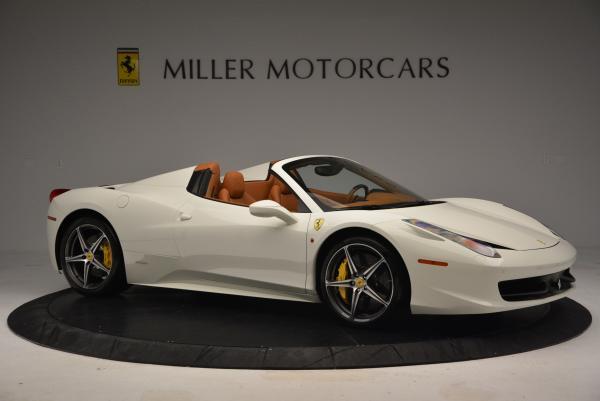 Used 2012 Ferrari 458 Spider for sale Sold at Alfa Romeo of Greenwich in Greenwich CT 06830 10