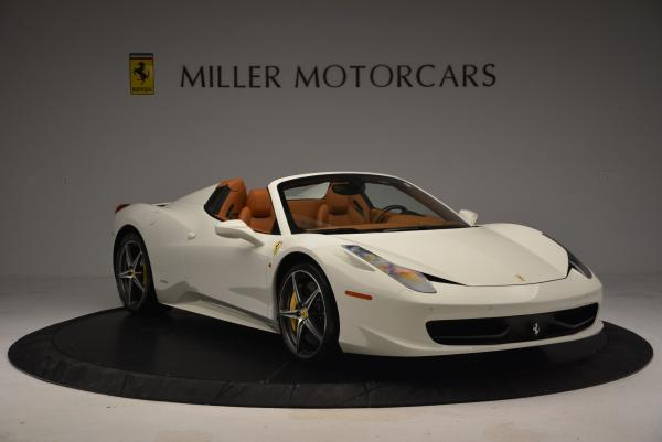 Used 2012 Ferrari 458 Spider for sale Sold at Alfa Romeo of Greenwich in Greenwich CT 06830 11